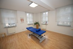 Behandlungszimmer des Physiopark-Erlangen